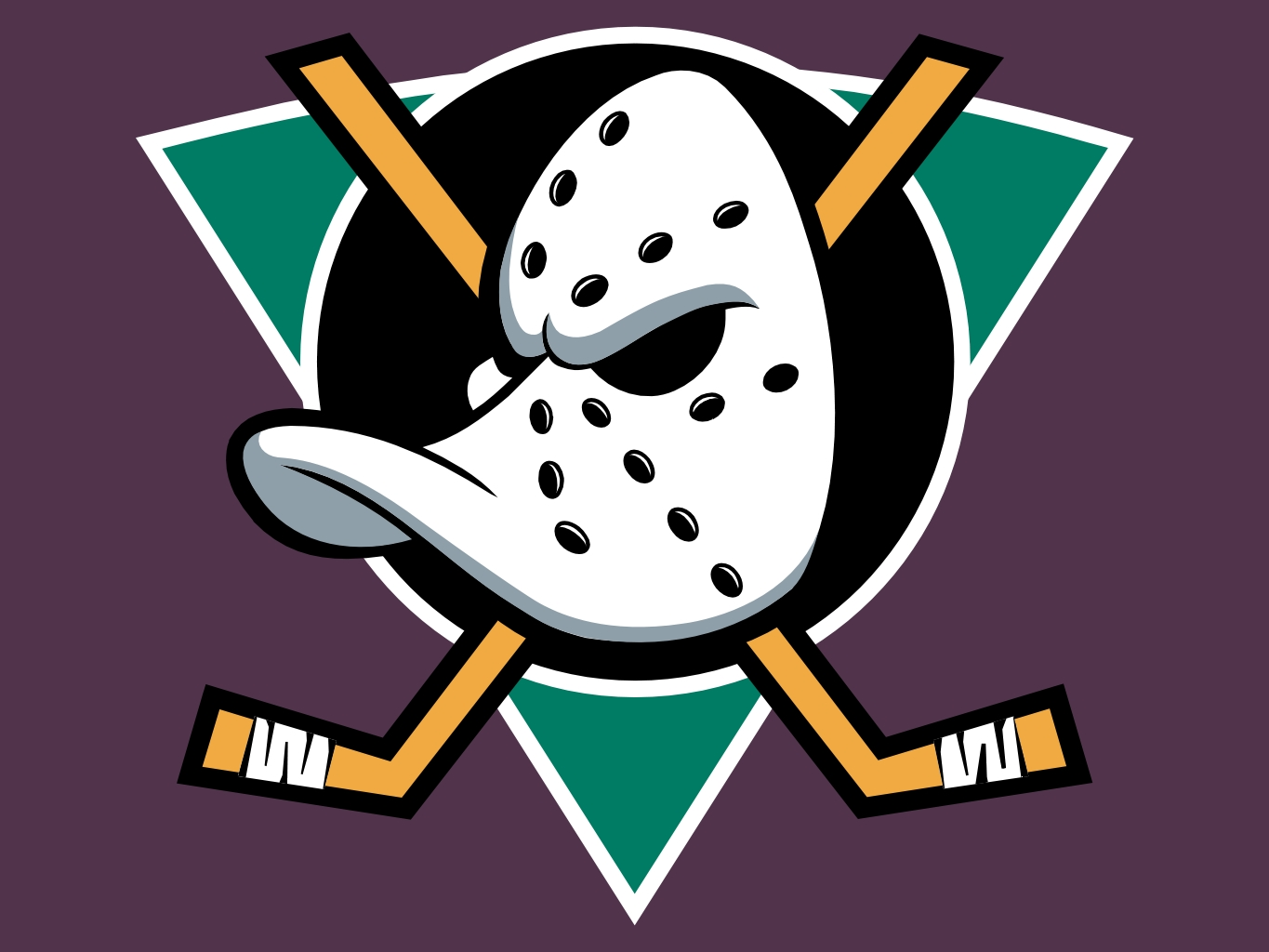 but if you watched the mighty ducks movies past theThe Mighty Ducks Logo