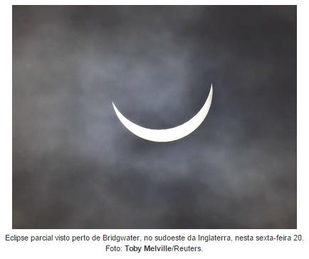 Eclipse Total Solar em 20 de Março de 2015