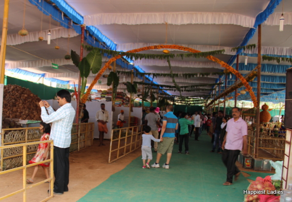 Paryaya Donations Store Hall - Stalls