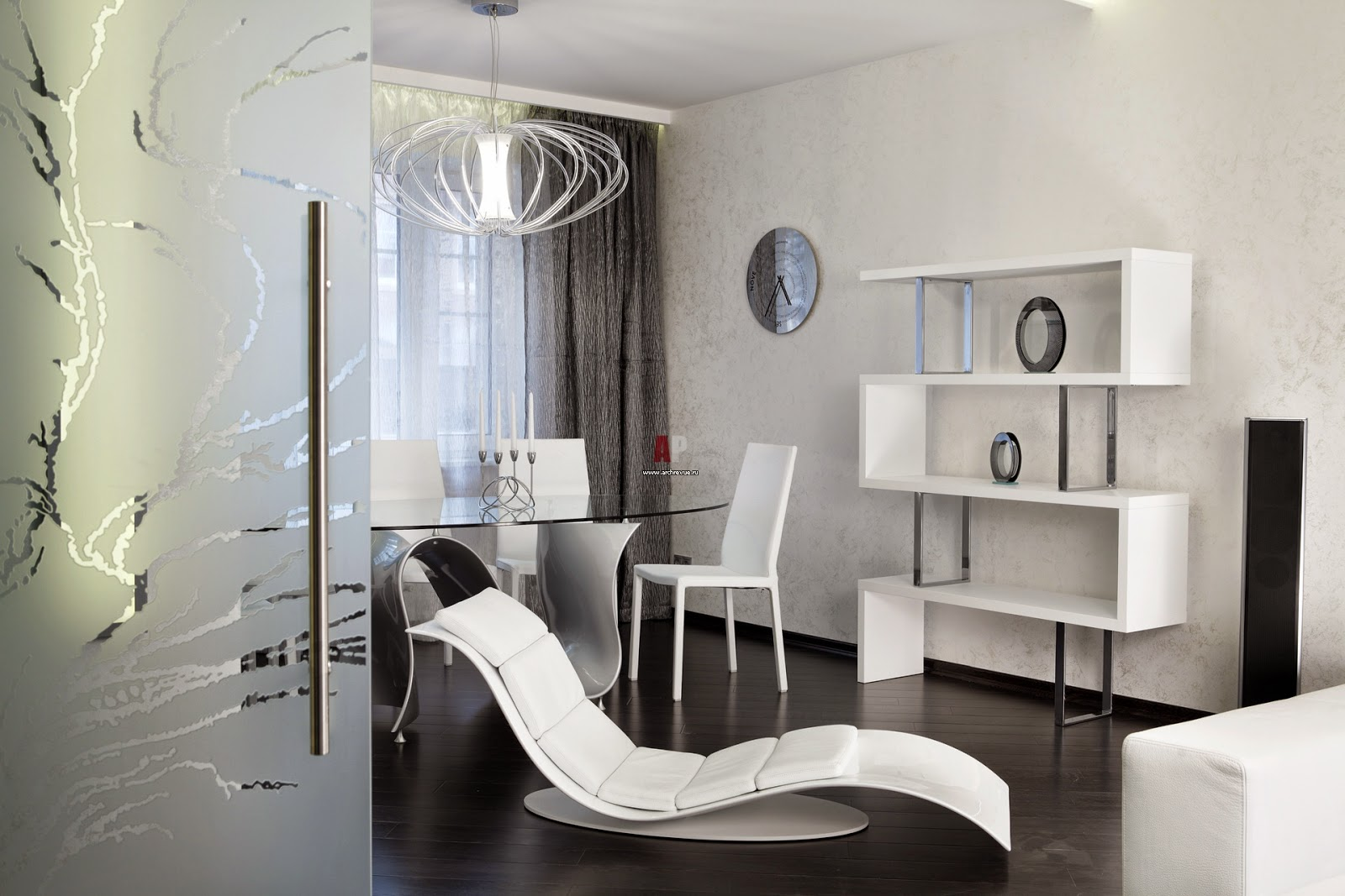10  Idea   White Living Room And One Comfortable Chair