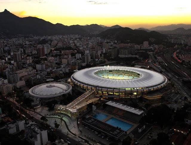 Pacote para jogo de futebol no Rio - Maracanã
