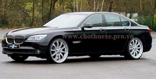 Cho thuê xe VIP BMW 750i hạng sang