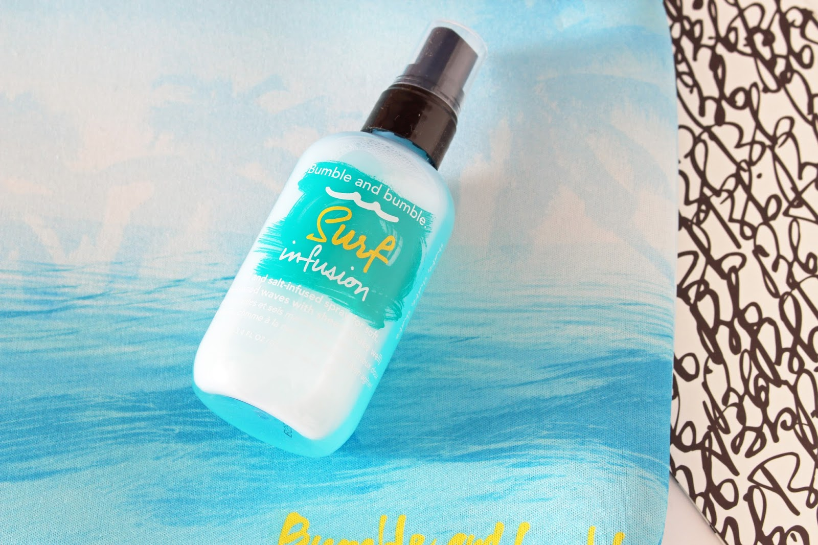 bumble and bumble surf infusion new hair spray for beach waves