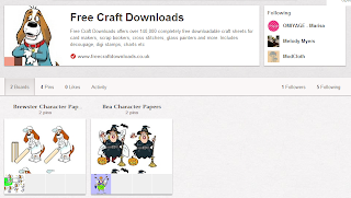 Free Craft Downloads Pinterest Account