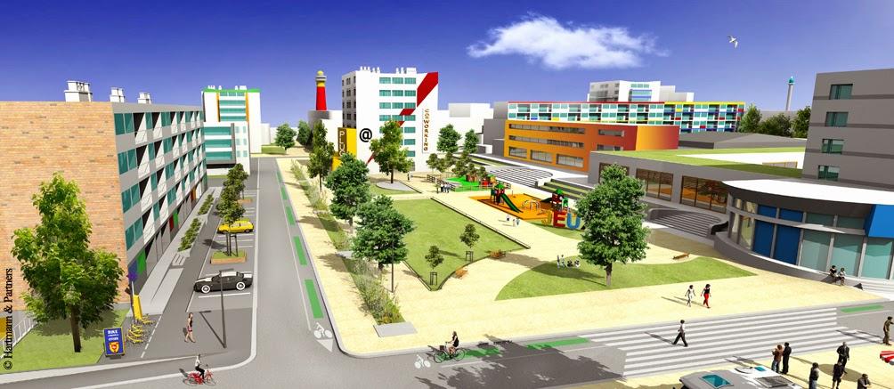 Hartmann partners boulogne sur mer projet urbain des for Boulogne sur mer piscine