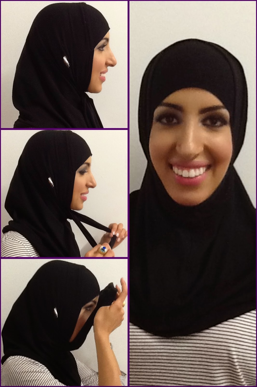 The Majida hijab is a patenthijab