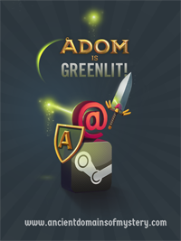 ADOM @ Steam Greenlight