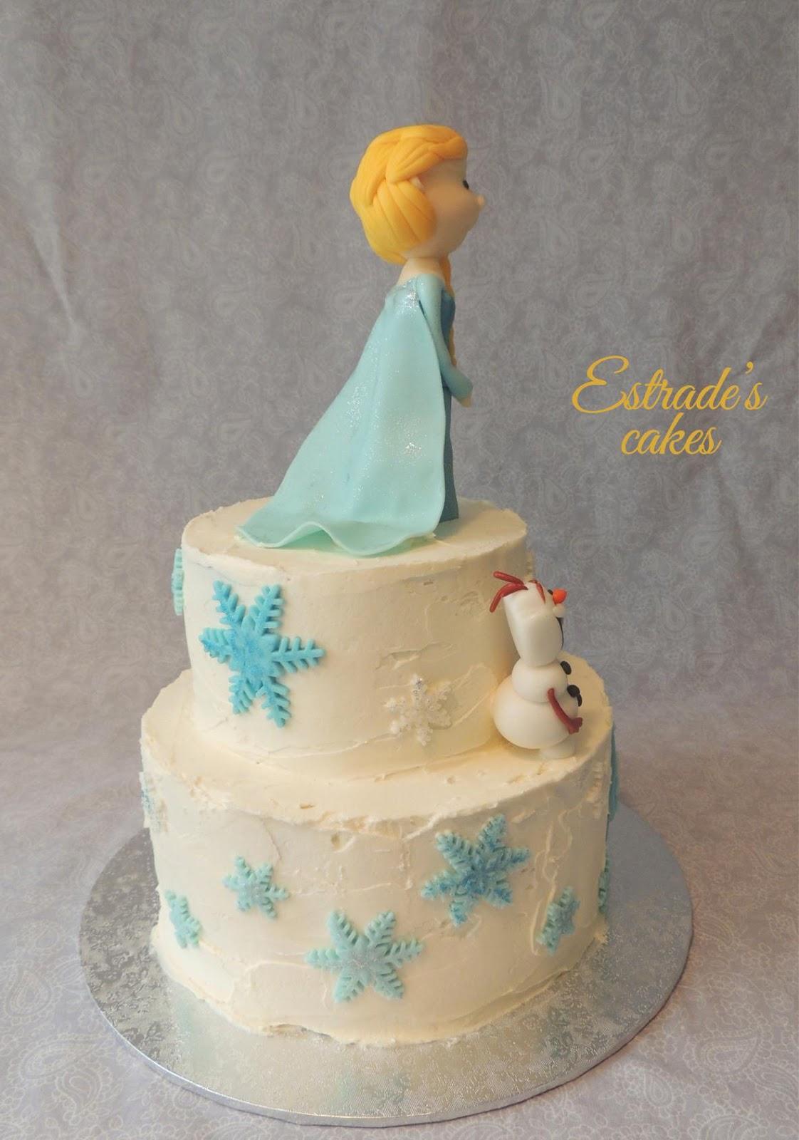 tarta de Frozen - 5