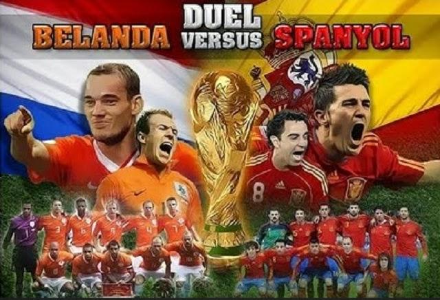 Prediksi Spanyol vs Belanda 14 Juni 2014 Tayang ANTV Dan TVONE