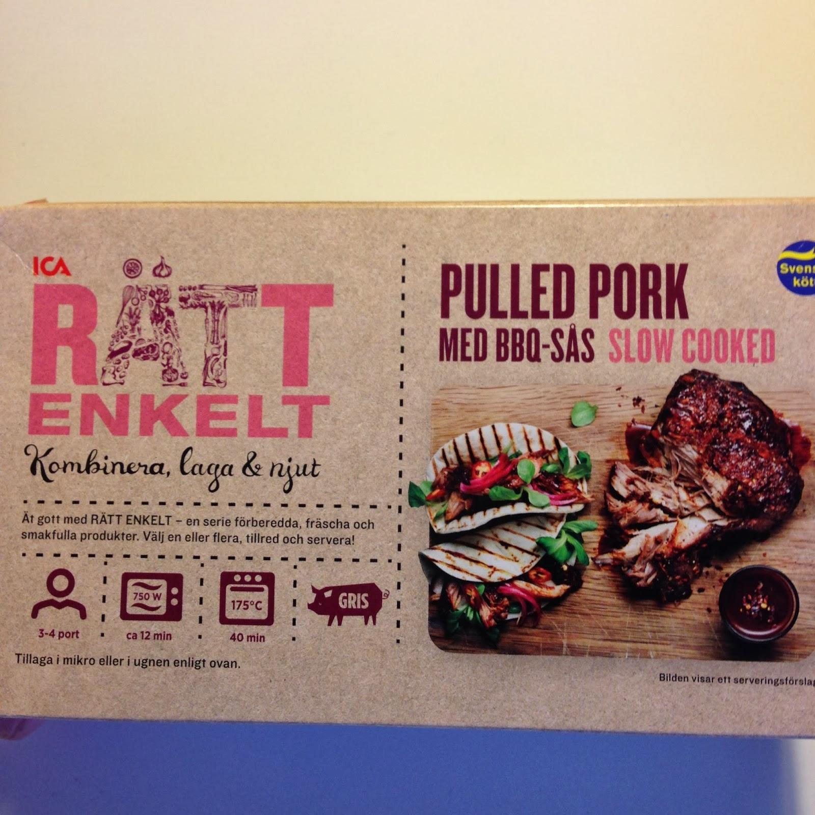 pulled pork ica