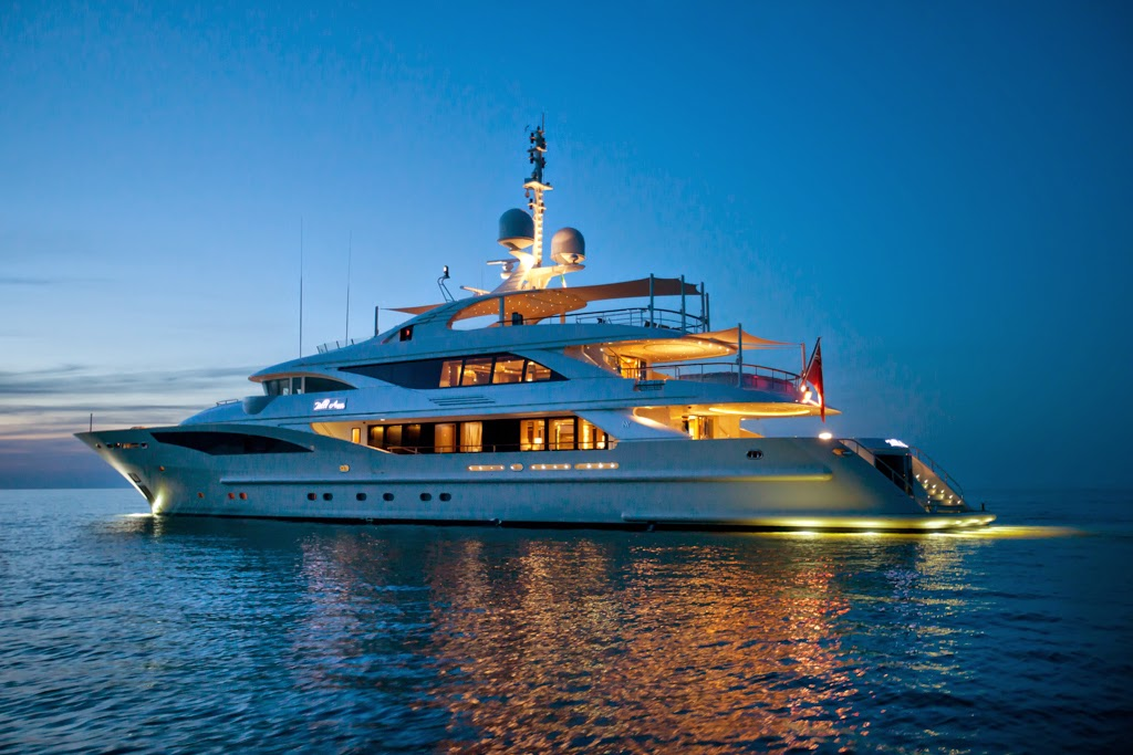 Belle Anna is a modern and sporty displacement vessel ...
