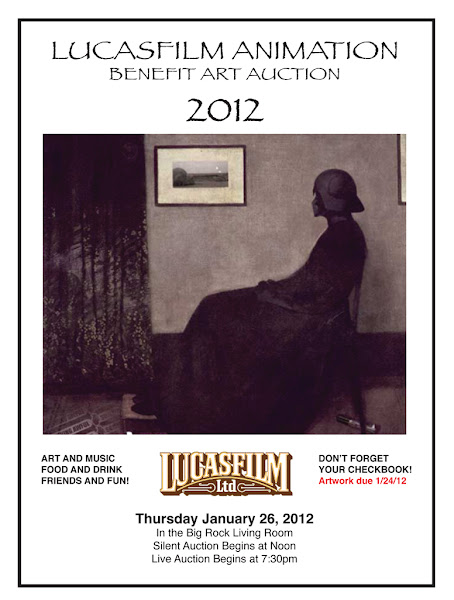 Lucasfilm Animation Benefit Art Auction