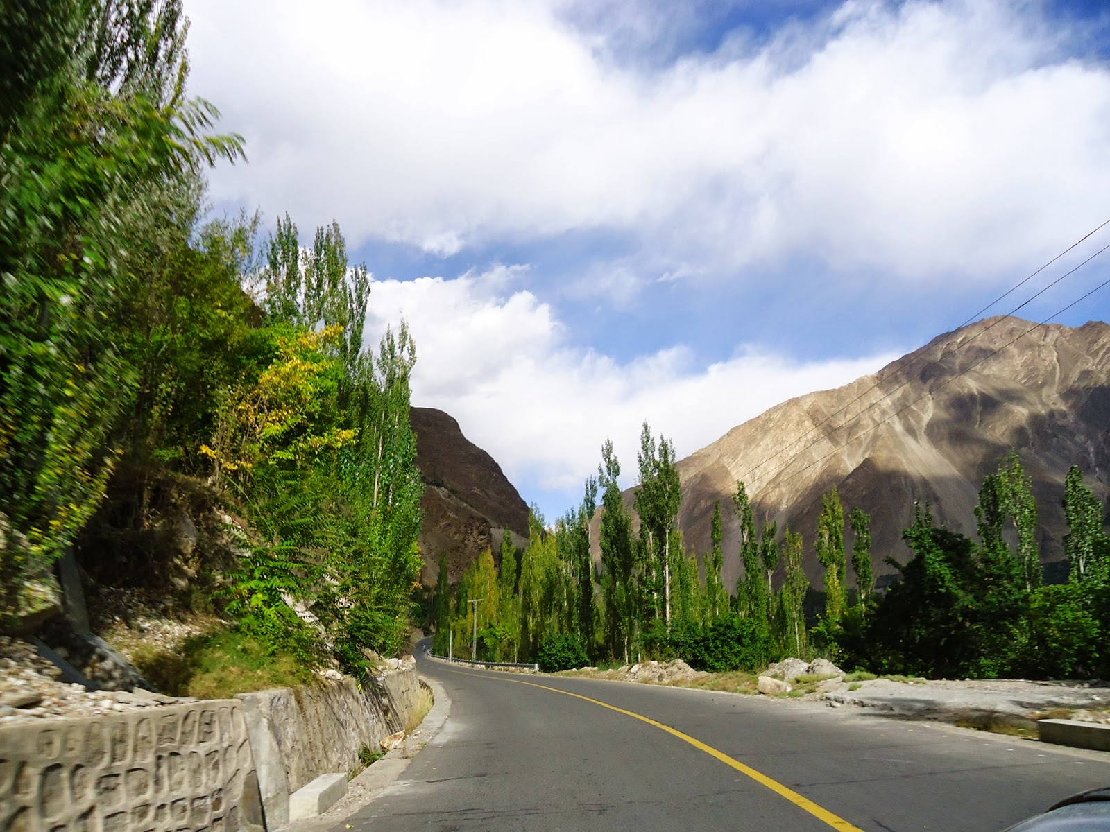 The Hunza Valley, Gilgit Baltistan