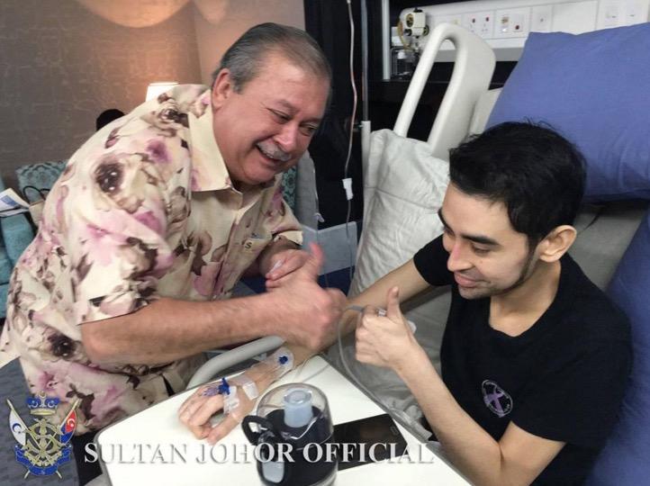 Sultan Johor Kongsi Keadaan Terkini Tunku Abdul Jalil