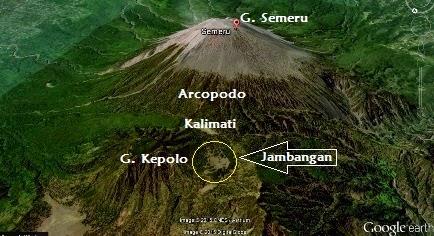 jalur pendakian gunung semeru di jambangan