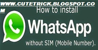 How To Use WhatsApp Without Using Your Own Number