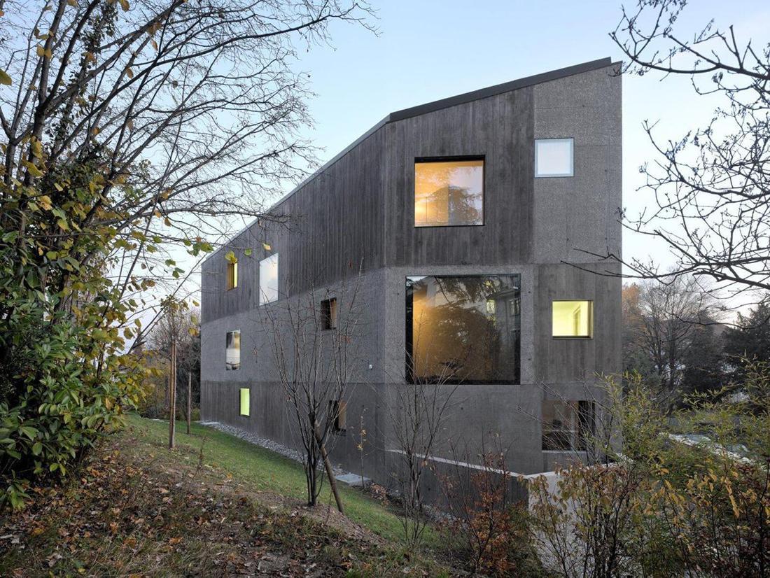 A f a s i a 6 2b architectes for Architecte lausanne