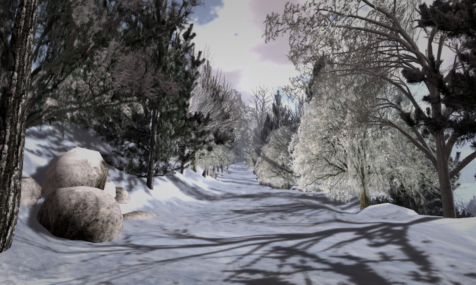 Echt Virtuell: Winter-Simtipp: The North Pole Sleigh Ride Adventure