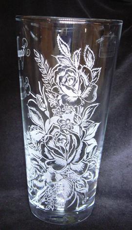 Vase gravé, Vase 100% PERSONNALISABLE par votre gravure - Cadeaux ...