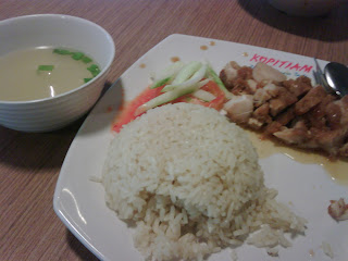 chicken rice kopitiam