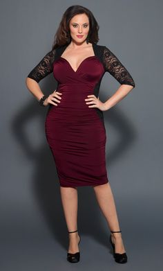 Curvy Interest Plus Size Christmas Dresses Outfits | LATEST FASHION ...