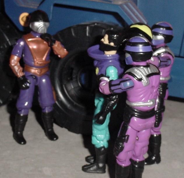1994 Star Brigade Techno Viper, 1987 Techno Viper, 1994 Star Brigade Cobra Commander, 1994 Detonator, 1995 Iron Panther Tank, Sgt. Savage
