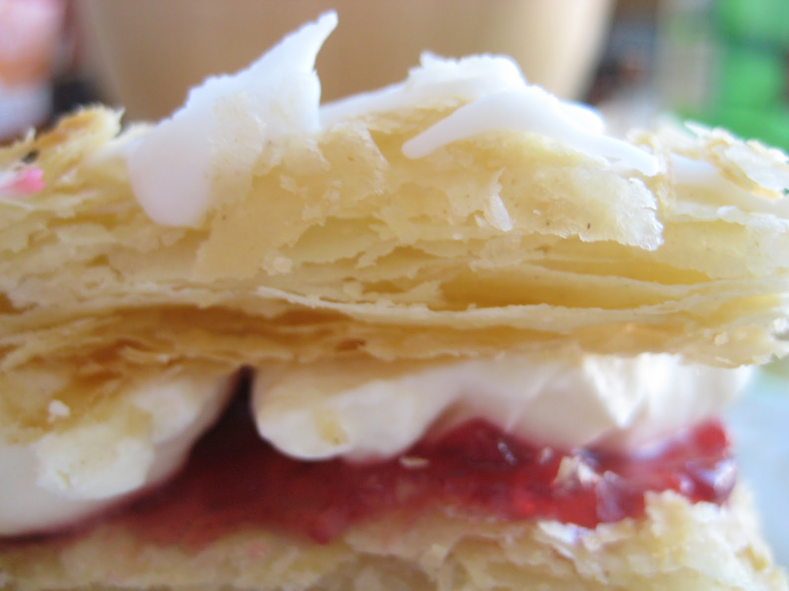 Let them eat (gluten free, lactose free) cake!: Puff pastry