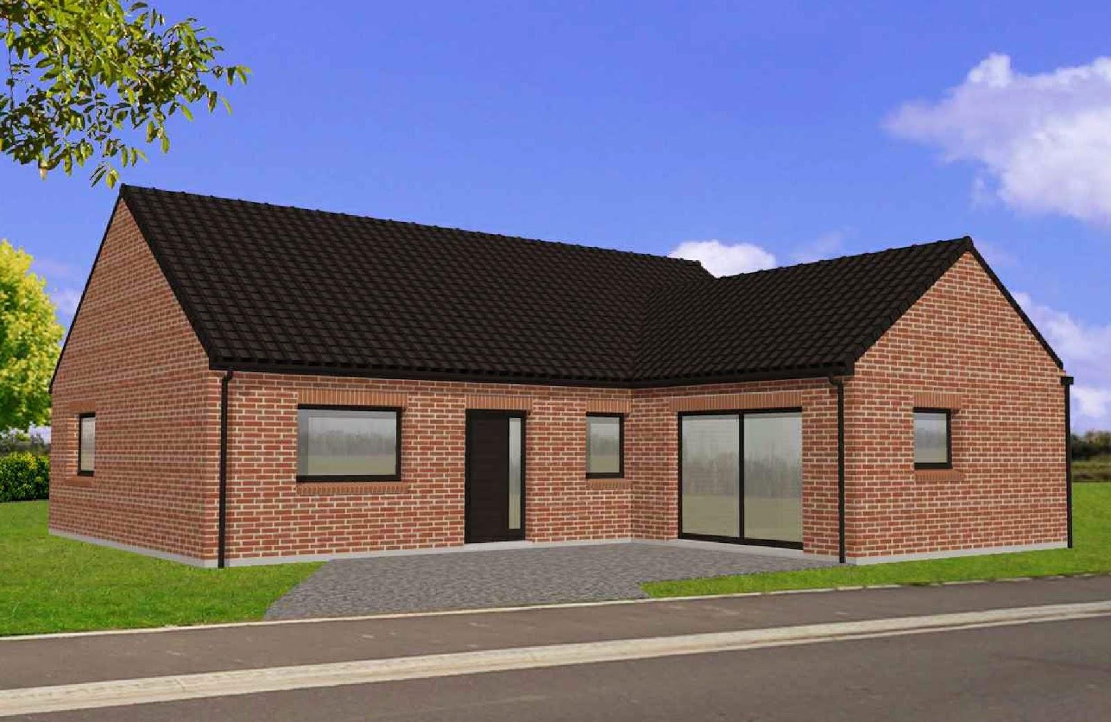 Maison-Familiale LILLE: NOEUX LES MINES - Plain Pied - 115 m²