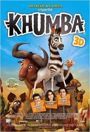 "Poster do filme ""Khumba"""
