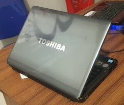 jual laptop 2nd toshiba u400