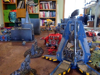 40k SW+IK vs Squat - shooting gallery