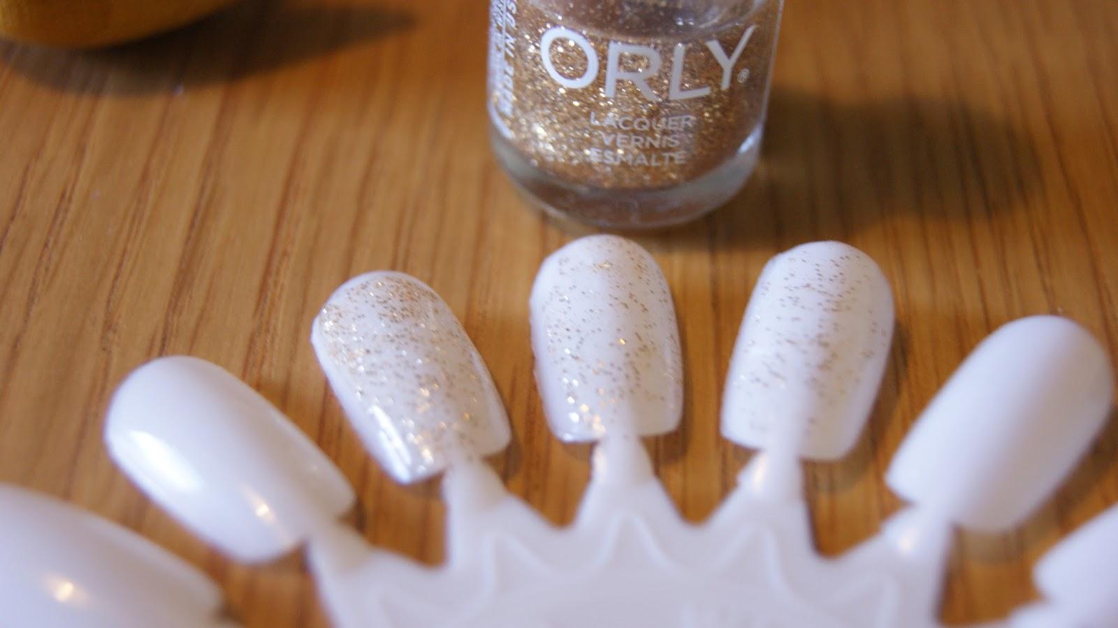 Orly hair band nail polish varnish swatch