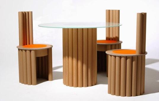 DE ARQUITECTURA Muebles con material reciclado, hágalo usted mismo