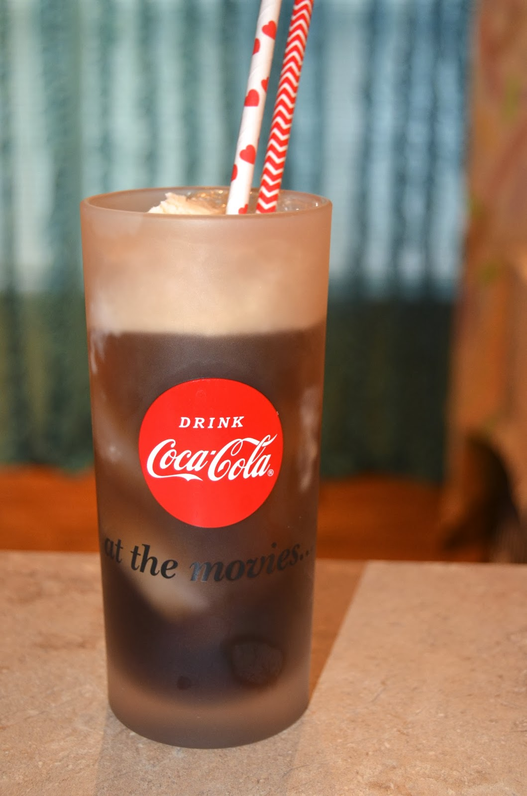 Paper Straws Coke Float Outside the Box Papers