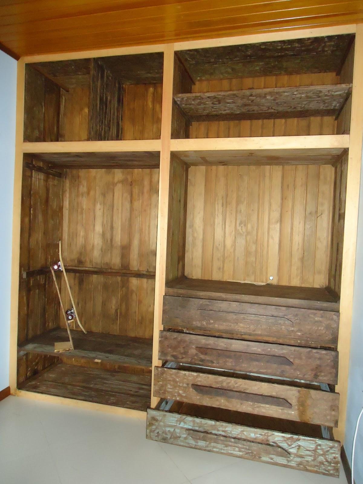 Talentos m veis r sticos closet sob medida for Closet rusticos