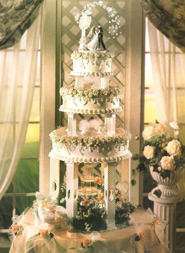 De Villas Wed Blog: How to Configure Fountain Wedding Cakes