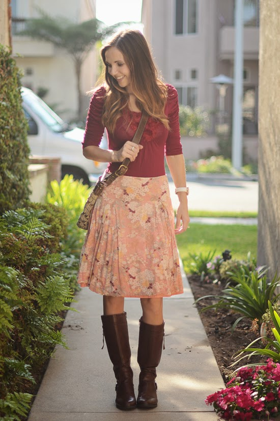 wardrobe tips and ideas for your brown boots this