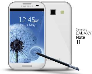 Galaxy Note generasi pertama. Samsung Galaxy Note 2 akan menggunakan