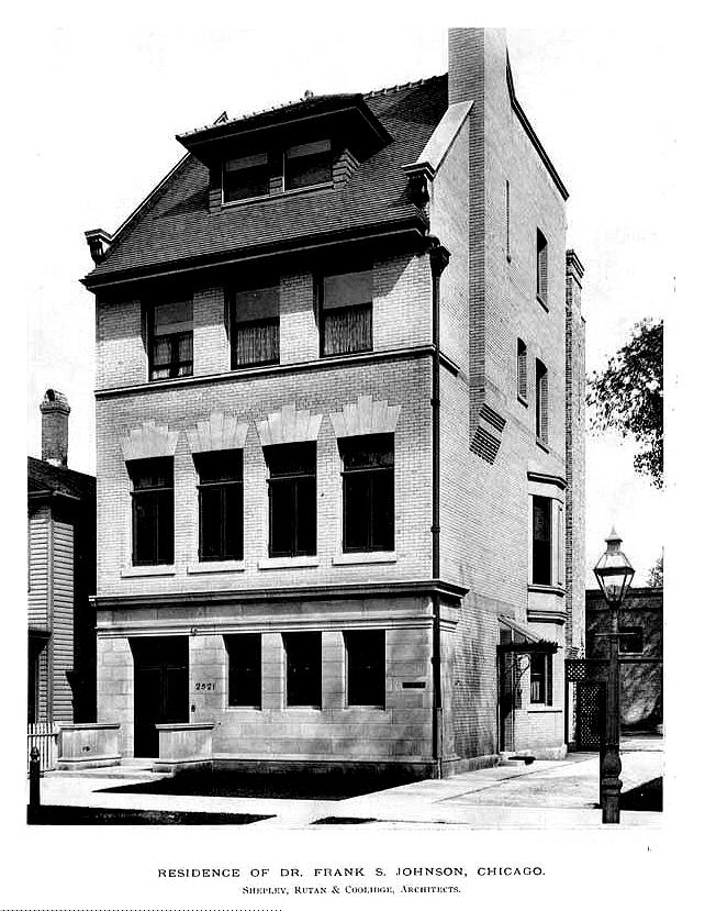 2521 S Prairie Ave Chicago 1894 Classic American