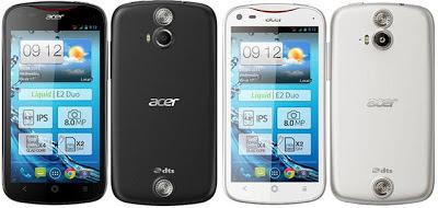 Spesifikasi Smartphone Acer Liquid E2