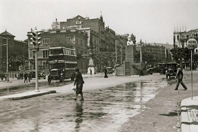BARCELOFÍLIA: MONUMENT A PI I MARGALL (I). Diagonal / Passeig de Gràcia (1931-1932)