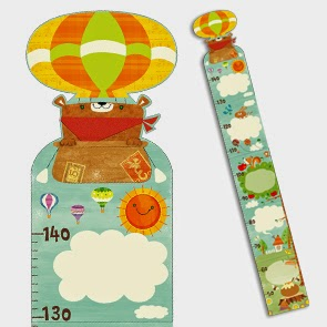 growth chart, teddy bear, printable growth chart