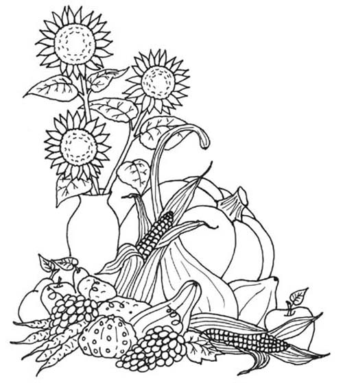 Autumn Coloring Pages2