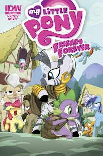 My Little Pony Friends Forever #21 Comic by IDW