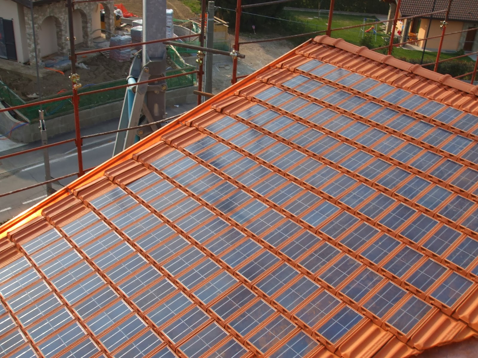 Evens Construction Pvt Ltd: Solar Roof Tiles