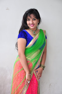 New actress Roshini half saree Picture shoot 033.jpg
