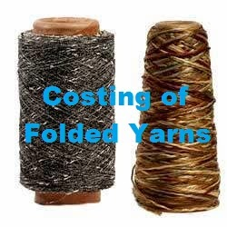 Costing of Folded Yarns