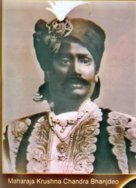 Maharaja Krishna chandra Bhanjdeo