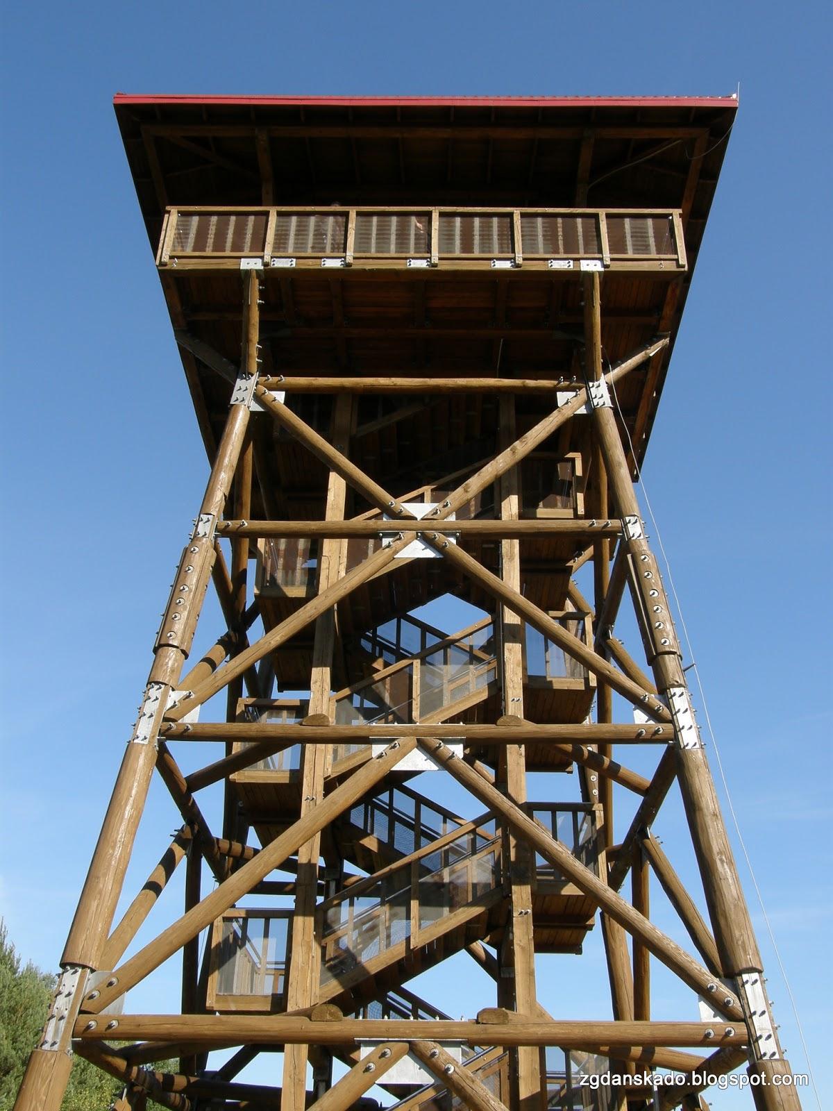 Fojutowo - wieża widokowa