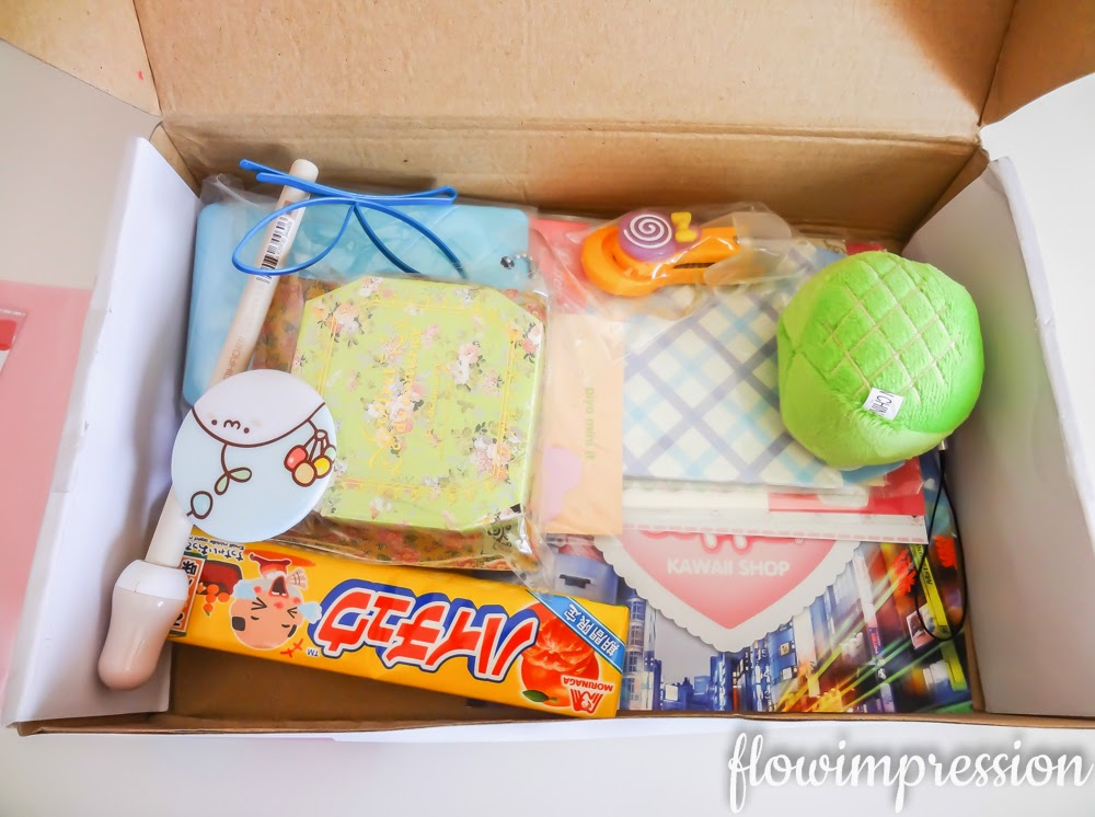 Kawaii Box unboxing